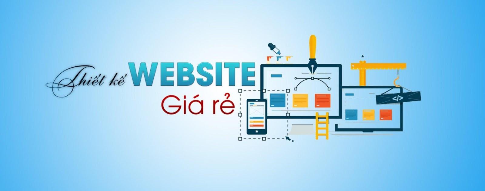 thiết kế website rẻ