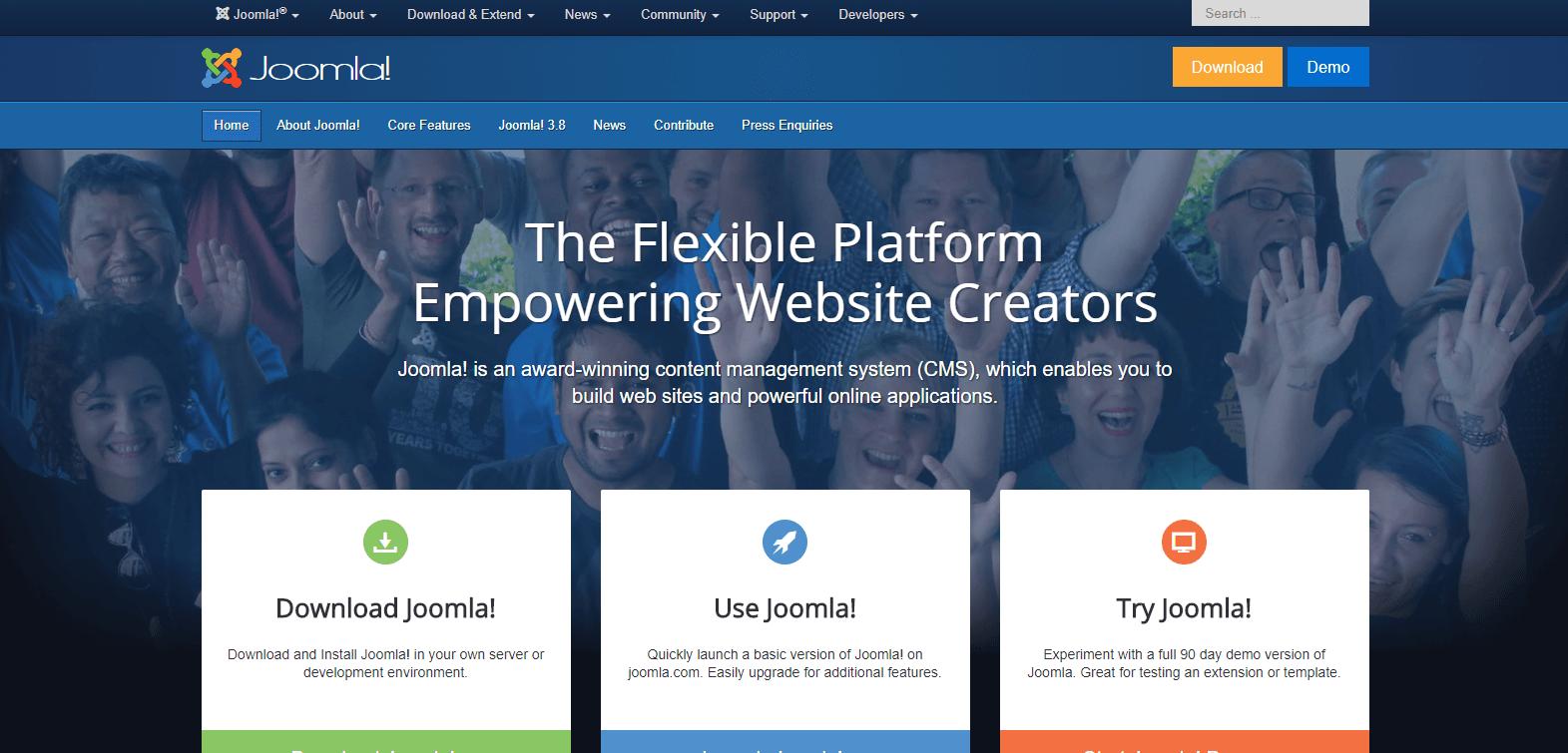 Thiết kế web bằng Joomla là gì?