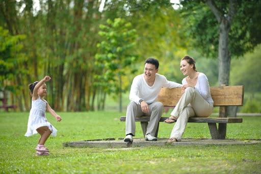 Cây xanh giúp cho con người khỏe mạnh hơn