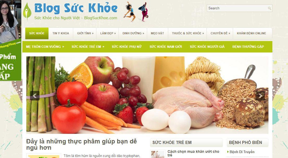 Blog sức khỏe
