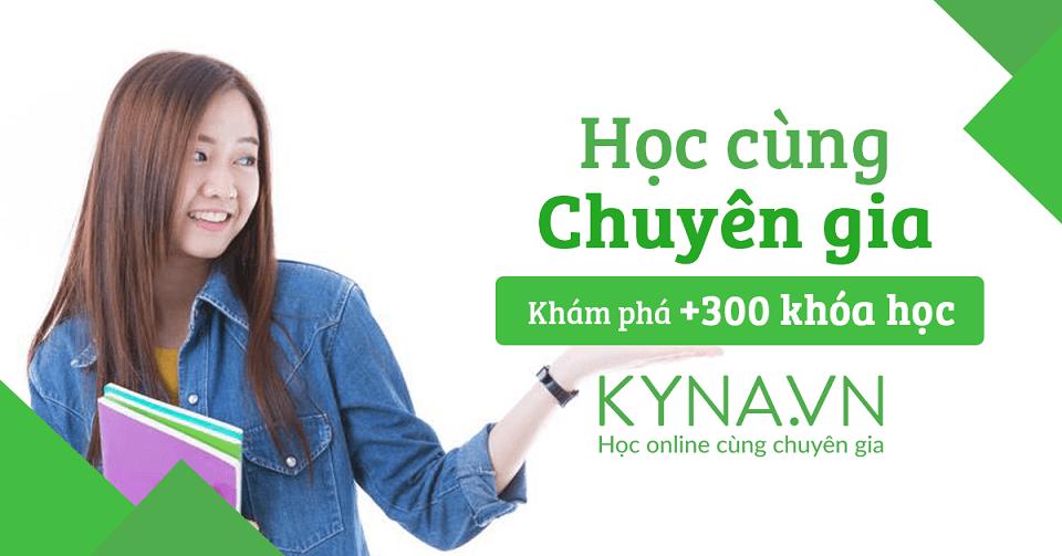 Website Kyna.vn mang tới rất nhiều kỹ năng cần thiết trong cuộc sống.