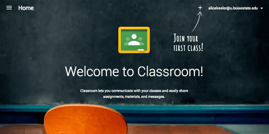 Cách đăng ký và tạo lớp học