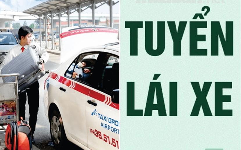 Quy tình tuyển dụng lái xe taxi