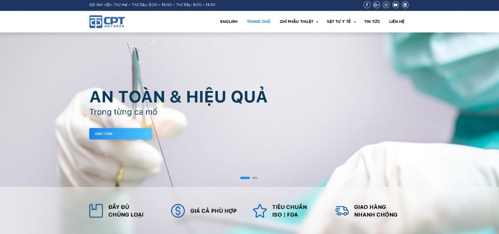 Công ty thiết bị y tế Cpt-Medical