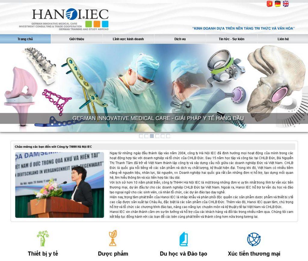 Phân phối thiết bị y tế Hanoi-ice