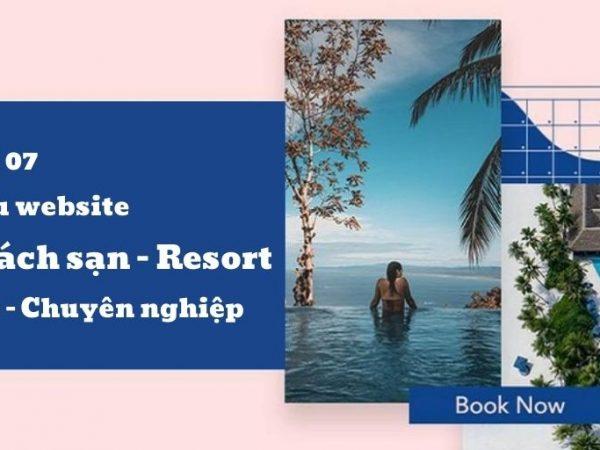 Top 7 mẫu thiết kế website khách sạn ấn tượng