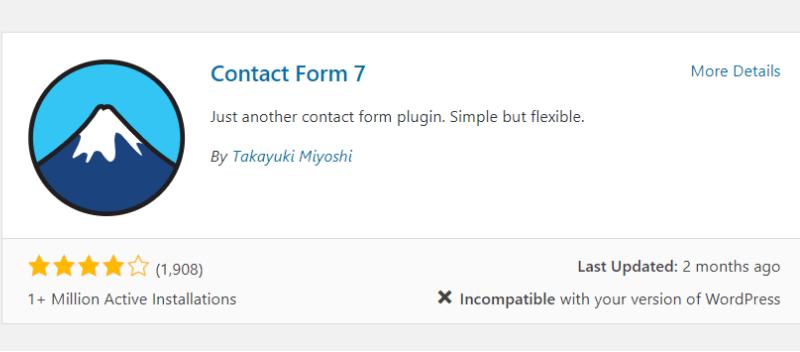 cài đặt contact form 7